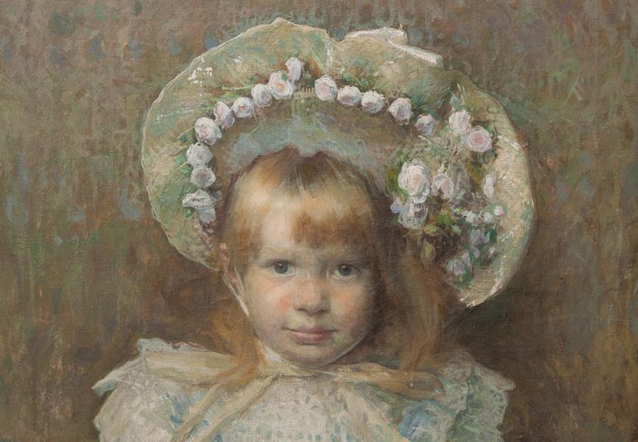 Portrait of Kateryna Hrushevska