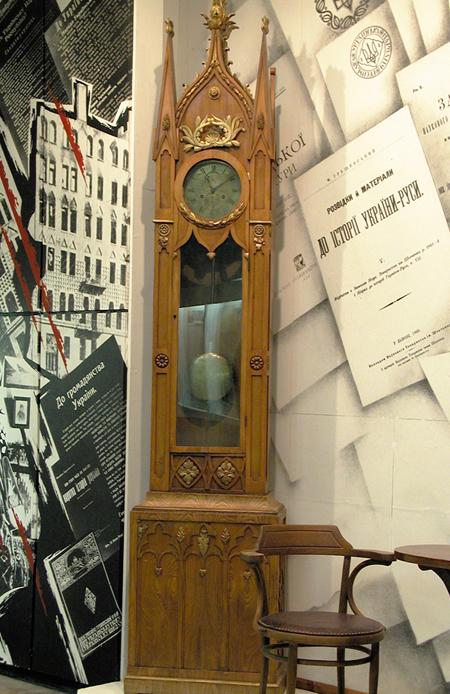Годинник з домашнього робочого кабінету Михайла Грушевського на ... fd1793e557fe8